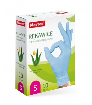 """Aloes nitrile gloves """"XS"""" MASTER S-084S MASTER S-445"""