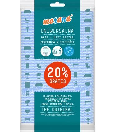 MORANA CLOTH UNIVERSAL 20+4szt. M021G