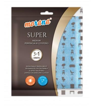 ŚCIERKA MORANA SUPER medium 3+1szt. gratis M006G